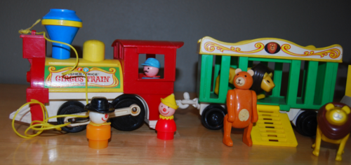 Fisher price circus train 8