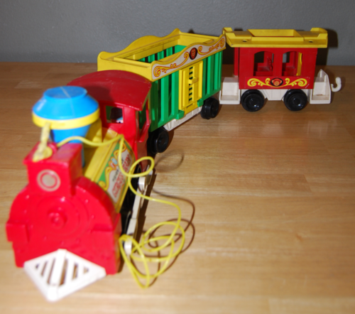 Fisher price circus train 12