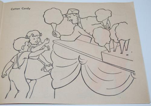 Circus coloring book 2