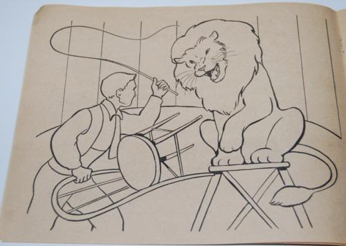 Circus coloring book 4