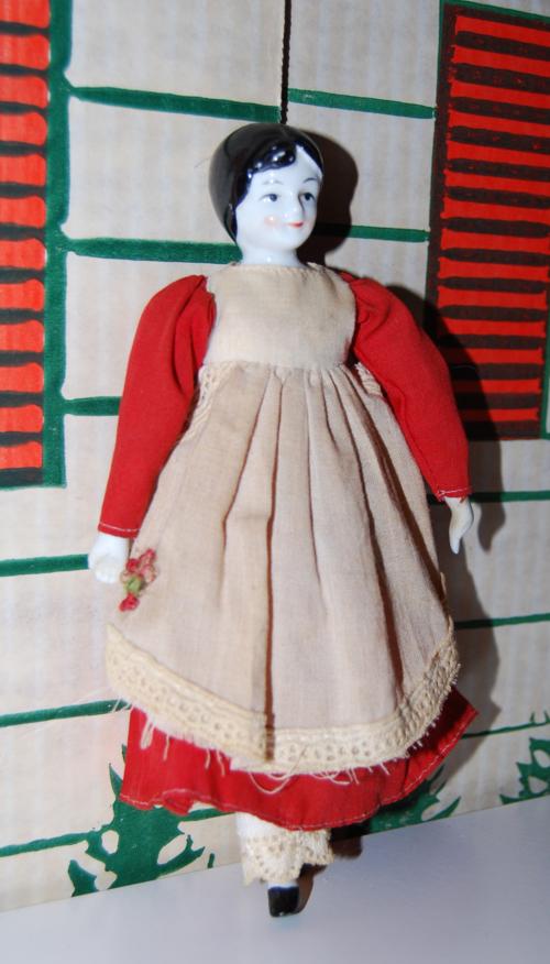 Vintage porcelain doll 2