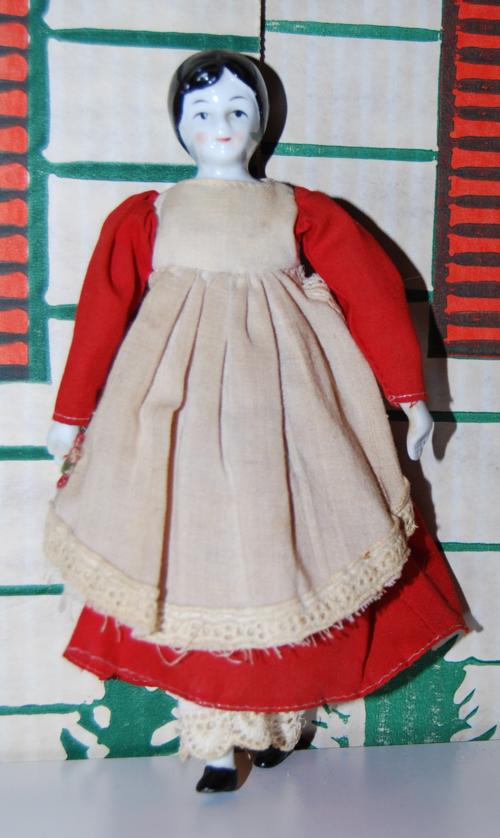 Vintage porcelain doll 3