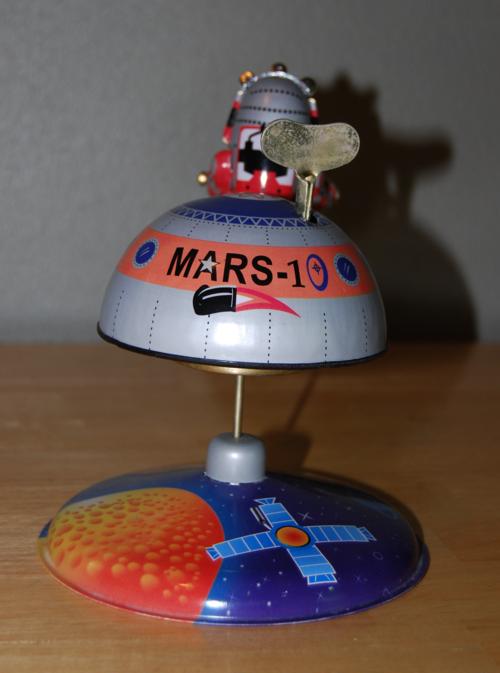 Mars 1 tin space toy