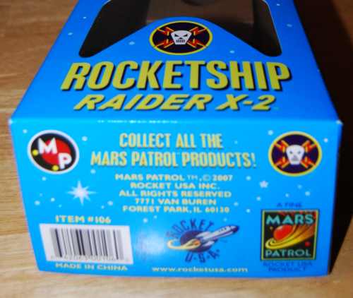 Mars patrol raider x2 box 3
