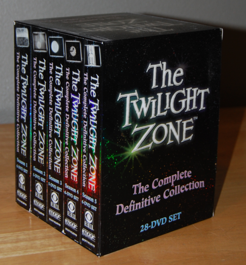 Twilight zone definitive dvd set