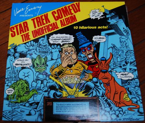 Star trek comedy album