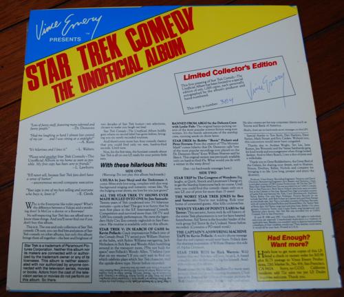 Star trek comedy album 1