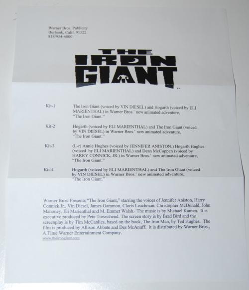 Iron giant packet 1