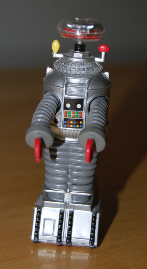 B9 lost in space robot keychain