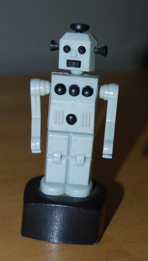 Robot pushtoy
