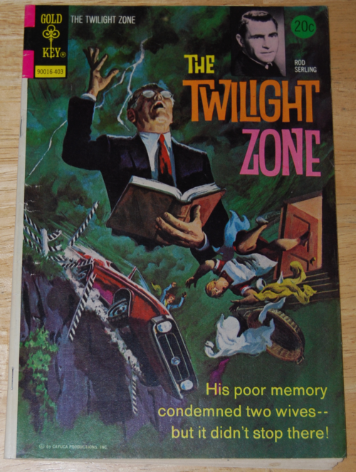 Twilight zone comic 1