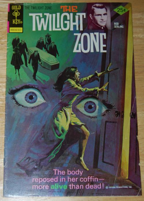 Twilight zone comic 4