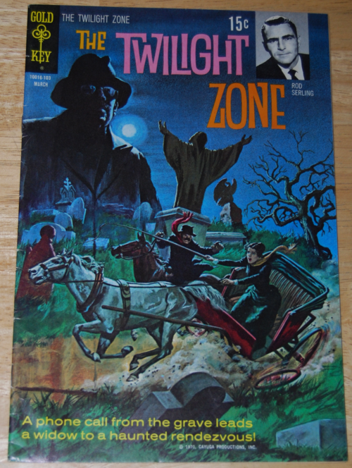 Twilight zone comic 7