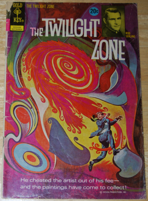 Twilight zone comic 8