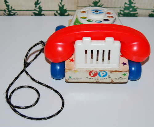 Fisher price original chatterphone 4