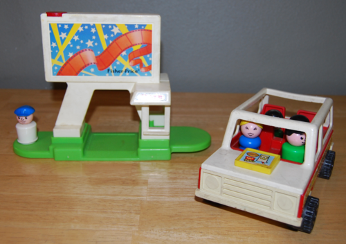 Fisher price drive in 4
