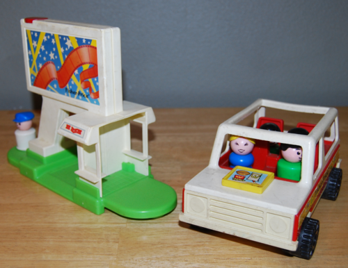 Fisher price drive in 5