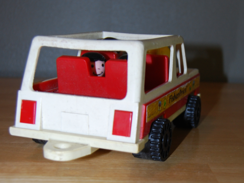 Fisher price station wagon 3