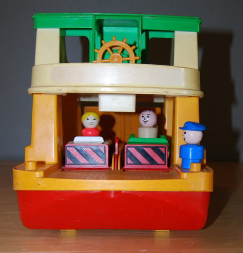 Fisher price ferry 3