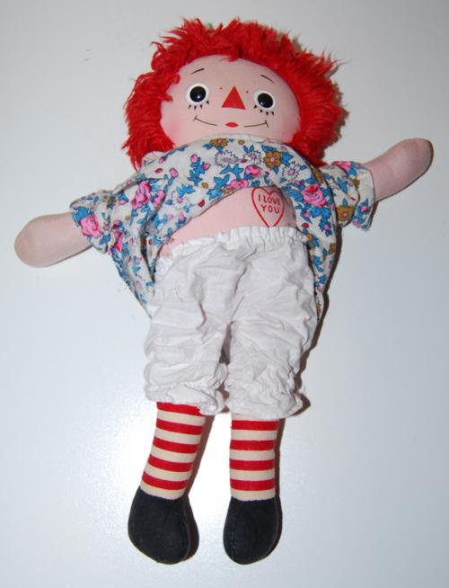 Vintage raggedy ann doll 3