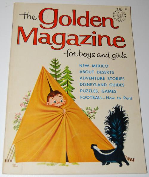 Golden magazine august 1965
