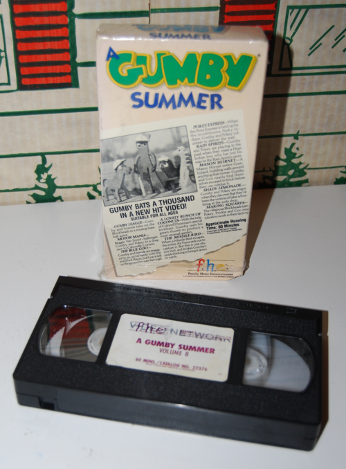 A gumby summer fhe vhs