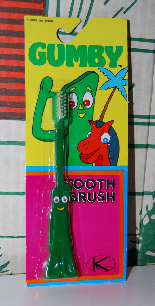 Gumby toothbrush