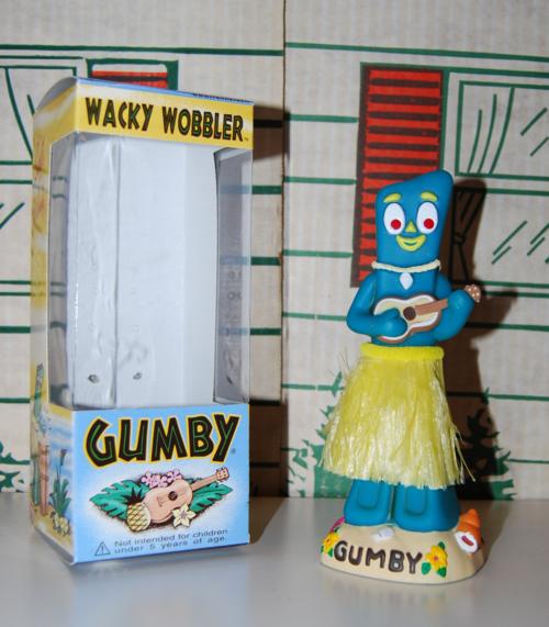 Gumby wacky wobbler