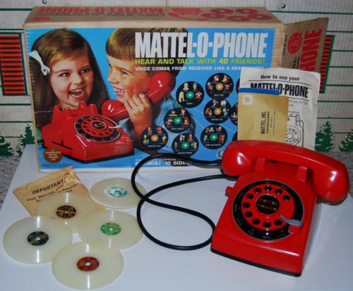 Mattel o phone 1965 (2)