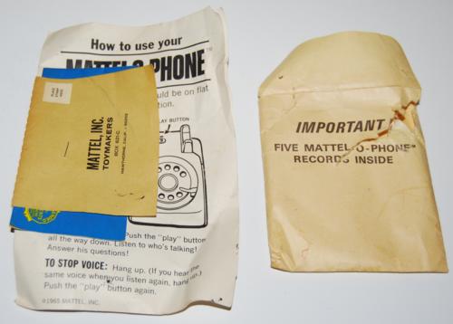 Mattel o phone 1965 4