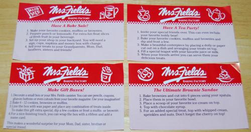 Mrs fields baking factory 8