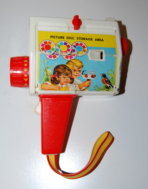 Fisher price music box musical camera 1