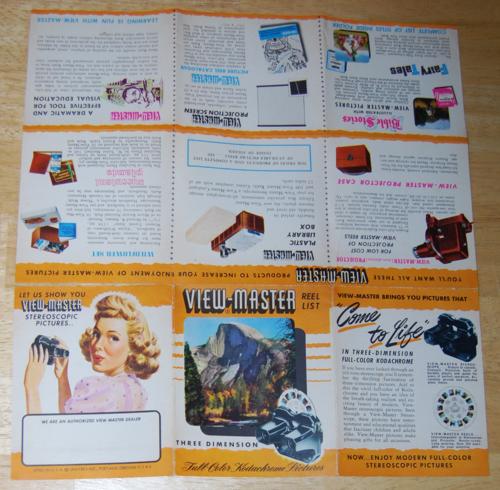 Vintage viewmaster 6