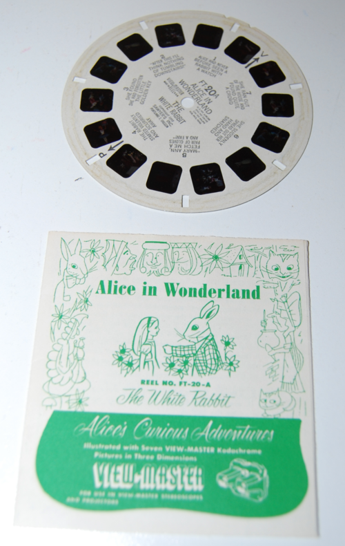 View master reels alice in wonderland