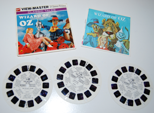 View master reels wizard of oz