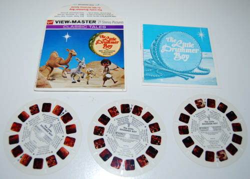 View master reels little drummer boy