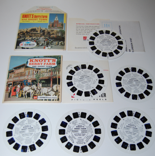 View master reels knott's berry farm
