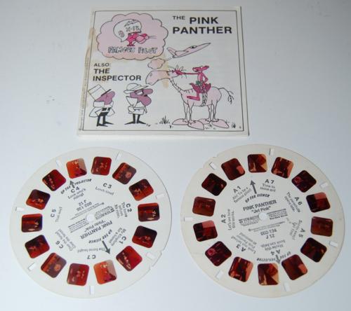 View master reels pink panther