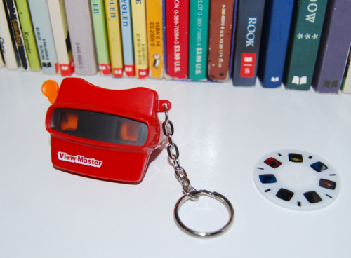 Mini viewmaster keychain 6