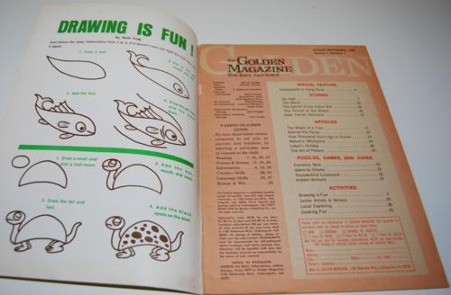 Golden magazine august september 1970 1