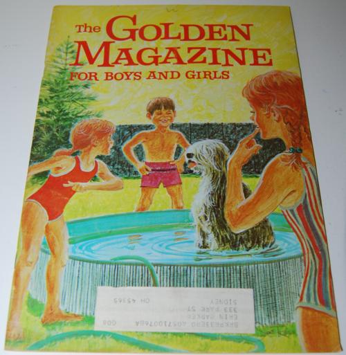 Golden magazine august september 1970