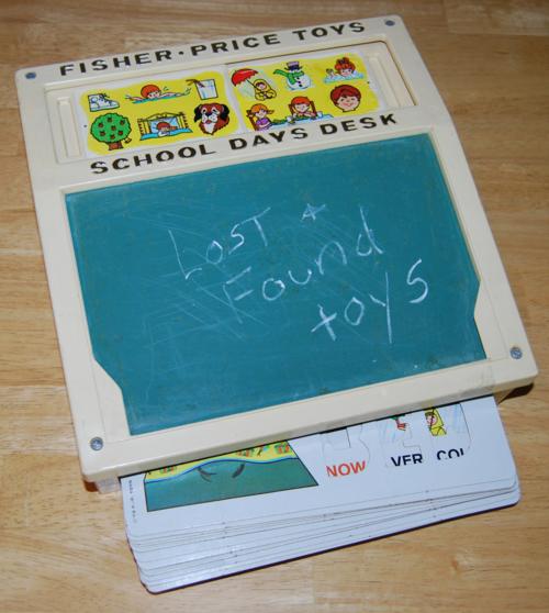 Fisher price school days desk 5