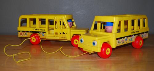 Fisher price schoolbus