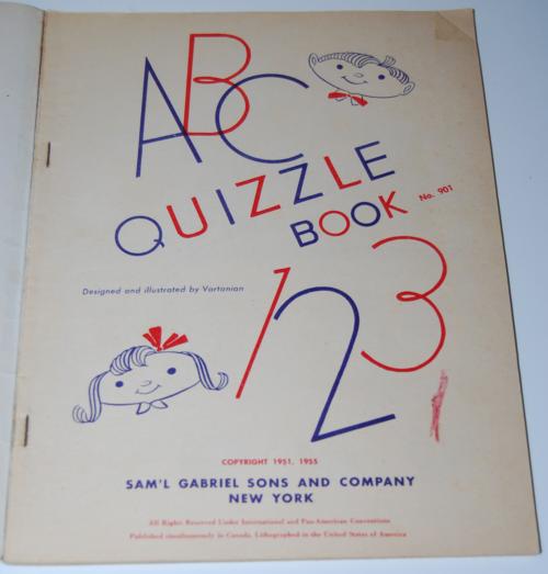 Quizzle book 1