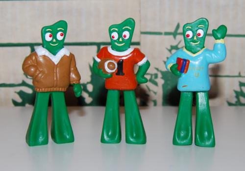 Gumby u figures