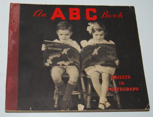 Vintage abc photo book
