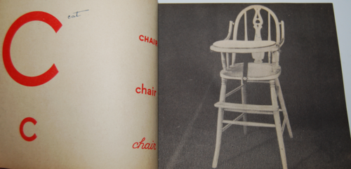 Vintage abc photo book 3