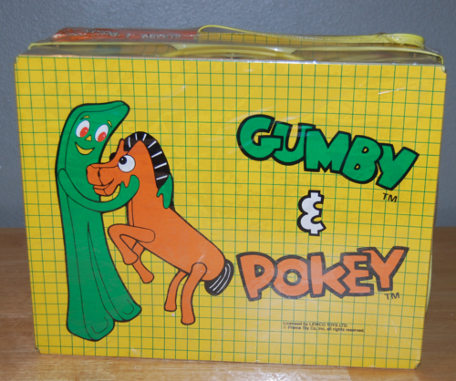 Gumby vintage luggage set lewco 3