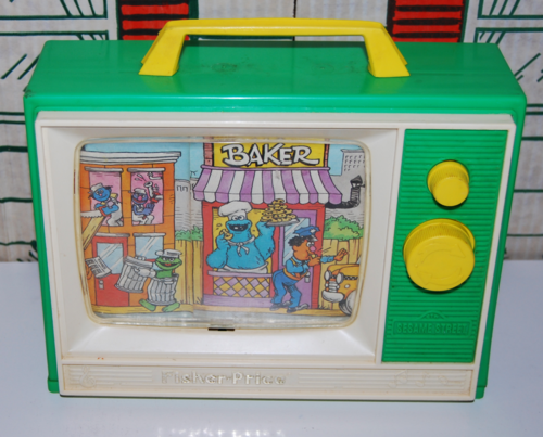 Fisher price sesame street musical tv