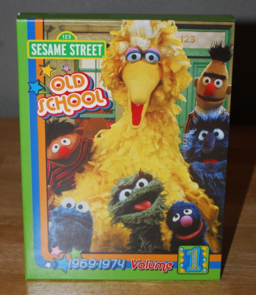 Oldschool sesame street dvd